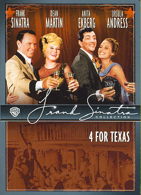4 FOR TEXAS BY SINATRA,FRANK (DVD)