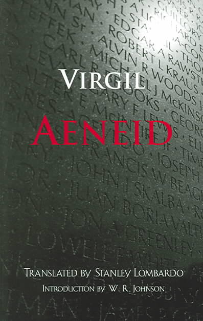 Aeneid By Virgil/ Lombardo, Stanley/ Johnson, W. R. (INT)
